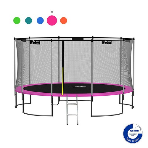 Best Trampolines To Buy 7. Kangaroo Hoppers 12/15FT Round Trampoline