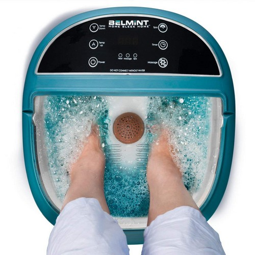 Best Heated Foot Spas 7. Belmint Foot Spa Massager