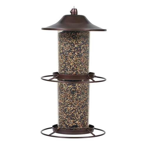 Best Outside Wild Bird Feeders 5. Perky-pet 325S panorama (double compartment)