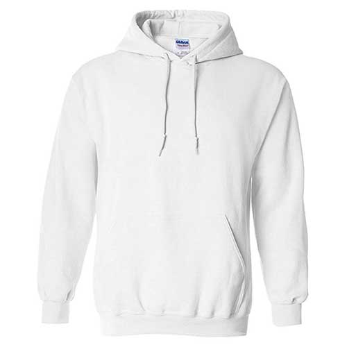 1. Gildan Men's Heavy Blend Fleece Hooded Sweatshirt G18500