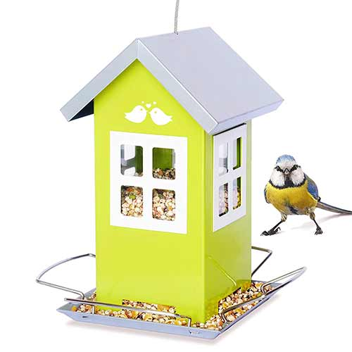 Best Outside Wild Bird Feeders 10. Bird lovee feeder house