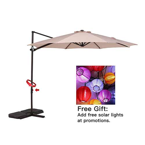 Top 10 Best Cantilever Patio Umbrellas in 2019 Reviews