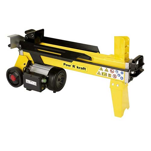 Best Electric Log Splitters 9. Pow' R' Kraft 65556 4-Ton 15 Amp Electric Log Splitter