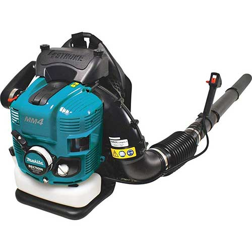 Best Commercial Leaf Vacuums 9. Makita BBX7600N 75.6 cc MM4 4-Stroke Engine Backpack Blower
