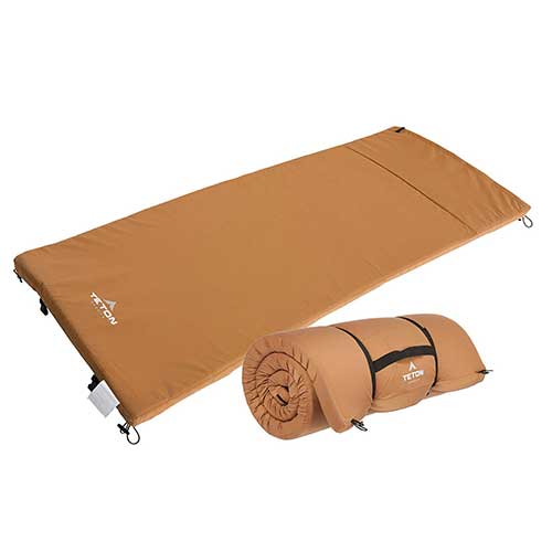 Best Camping Cot Mattress 1. Teton Sports Adventurer Camping Pad