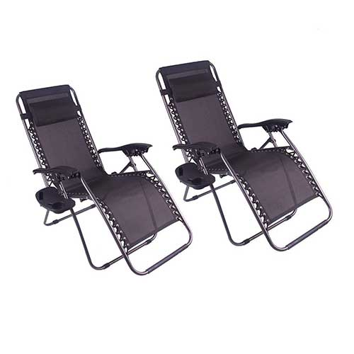 Best Zero Gravity Chairs for Back Pain 8. Polar Aurora Zero Gravity Chairs