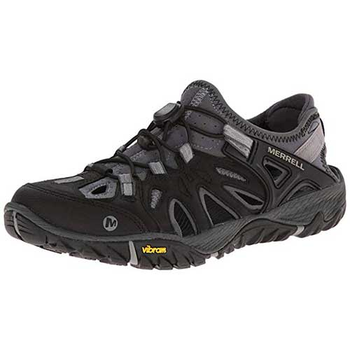 Best Water Shoes for Hiking 6. Merrell Men's All Out Blaze Sieve Water Shoe