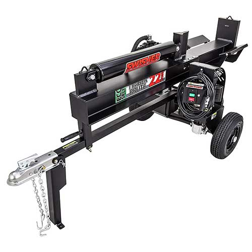 Best Electric Log Splitters 8. Swisher LS22E 120V Timber Brute Eco Split Electric Log Splitter