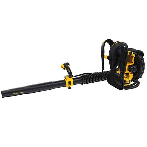 Best Backpack Leaf Blowers 4. DEWALT DCBL590X1 40V Max Lithium Ion Backpack Blower