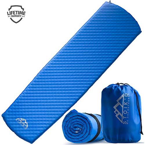 Best Camping Cot Mattress 7. Sleeping Pad for Camping - Self Inflating Inflatable Mattress