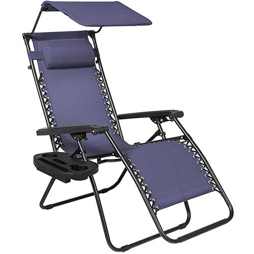 Best Zero Gravity Chairs for Back Pain 6. Best Choice Products Folding Zero Gravity Recliner Lounge Chair