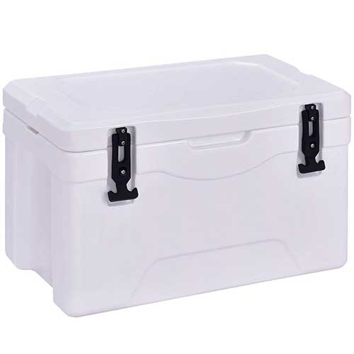 Best Coolers Under 100 9. Giantex 32 Quart Heavy Duty Cooler Ice Chest Outdoor Insulated Cooler Fishing Hunting Sports