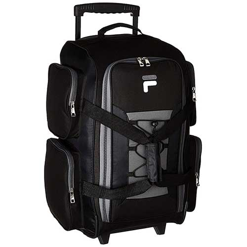 Best Rolling Duffel Bags for International Travel 10. Fila 22