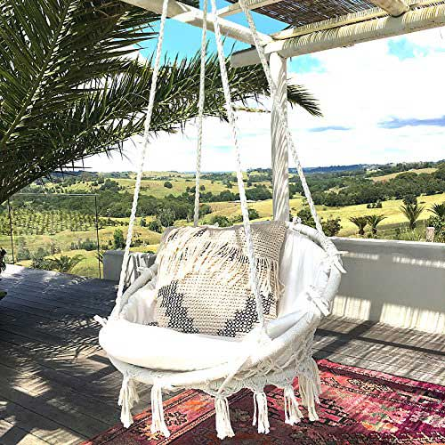 Most Comfortable Hanging Chairs 9. Sonyabecca Hammock Chair