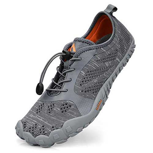 Best Water Shoes for Hiking 1. QANSI Mens Hiking Shoes Mesh Breathable Barefoot Water Shoes Gym Athletics Running Walking Outdoor Sports Training Shoes