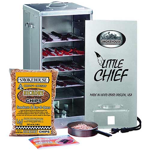 Best Electric Smokers Under 300 9. Smokehouse Products Little Chief Front Load Smoker