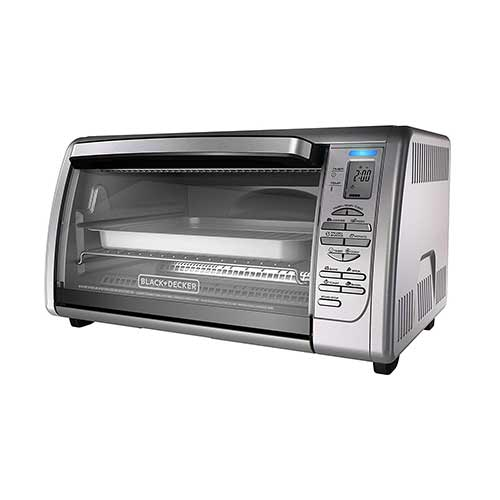Best Toaster Ovens Under $100 1. BLACK+DECKER Countertop Convection Toaster Oven