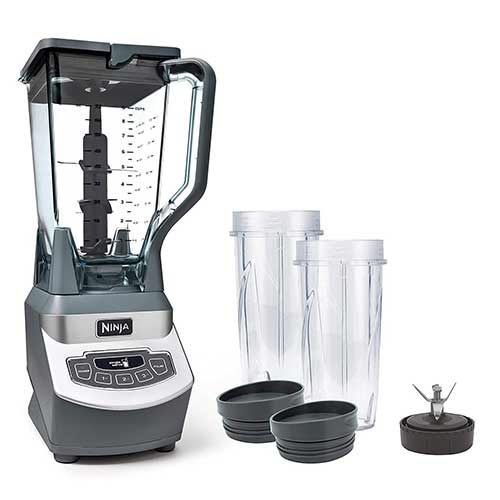 Best Personal Blenders for Frozen Fruit 4. Ninja Professional Countertop Blender