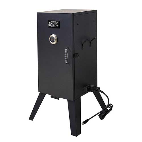 Best Electric Smokers Under 300 2. Smoke Hollow 26142E 26-Inch Electric Smoker with Adjustable Temperature Control