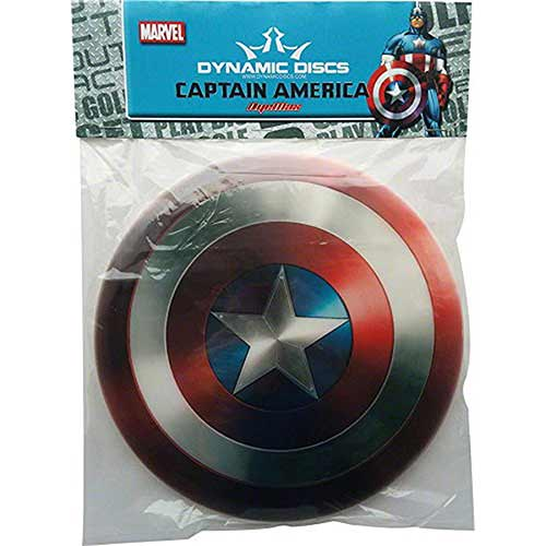Best Disc Golf Discs for Intermediate Players 9. Dynamic Discs Captain America Golf Disc: Fairway Driver