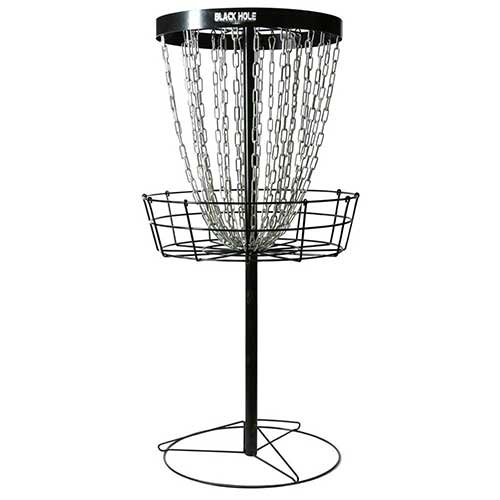 Best Disc Golf Practice Baskets 1. MVP Black Hole Pro 24-Chain Portable Disc Golf Basket Target & Accessories