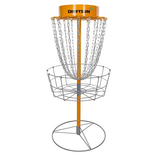 Best Disc Golf Practice Baskets 4. Driftsun Typhoon Disc Golf Basket - Portable Heavy Duty Disc Golf Target