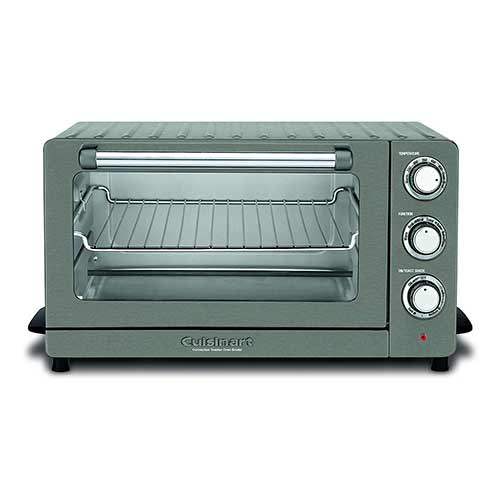 Best Toaster Ovens Under $100 7. Cuisinart TOB-60N1BKS2 Convection Toaster Oven