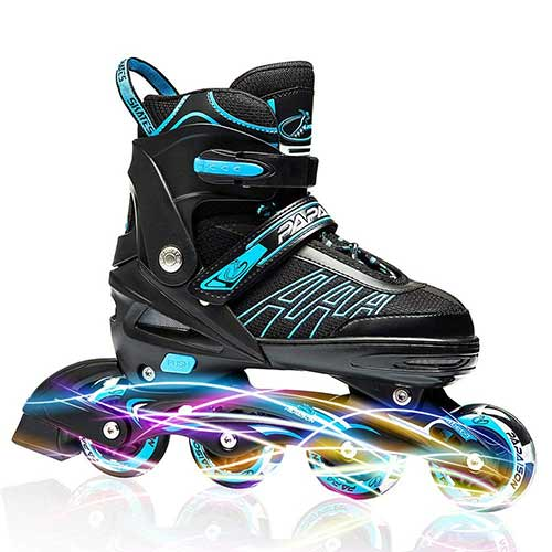 Best Rollerblades for Women 5. IUU Sports Adjustable Inline Skates Kids Adults, Rollerblades