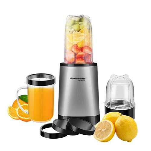Best Personal Blenders for Frozen Fruit 10. Homeleader 9-Piece Personal Blender
