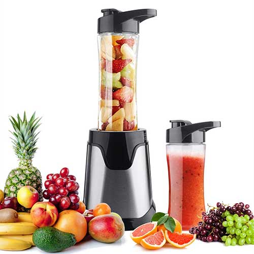Top 10 Best Personal Blenders for Frozen Fruit in 2018 Reviews