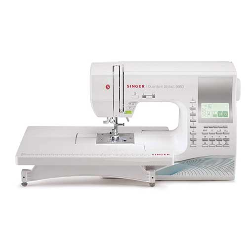 Best Embroidery Machines for Home Business 5. SINGER Quantum Stylist 9960 Computerized Portable Sewing Machine