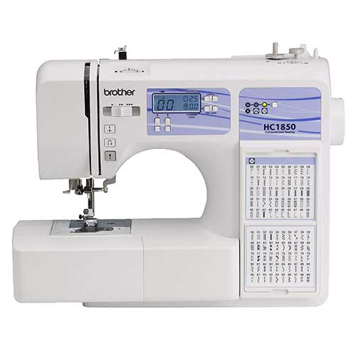 Best Embroidery Machines for Home Business 8. Brother Computerized Sewing and Quilting Machine