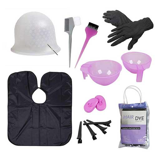 9. BMC Hair Dye Coloring DIY Beauty Salon Tool Kit