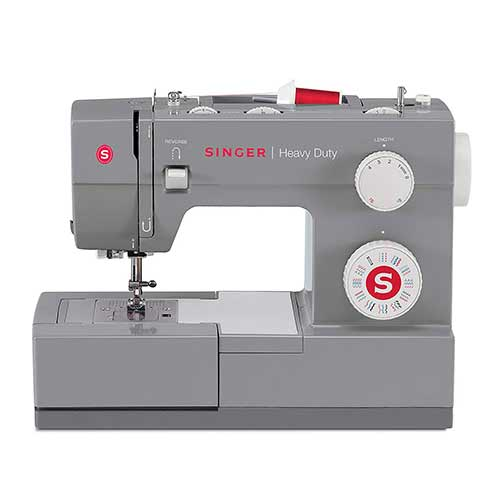 Best Sewing Machines for Leather 2. Singer | Heavy Duty 4432 Sewing Machine