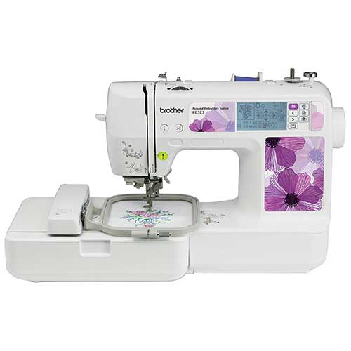 Best Embroidery Machines for Home Business 9. Brother PE525 Embroidery Machine
