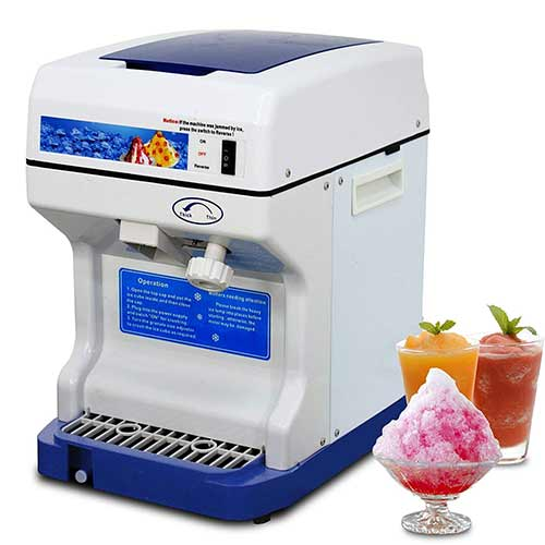 Best Commercial Shaved Ice Machines 10. Super Deal PRO Commercial Ice Shaver Snow Cone Maker Ice Shaving Machine Ice Crusher