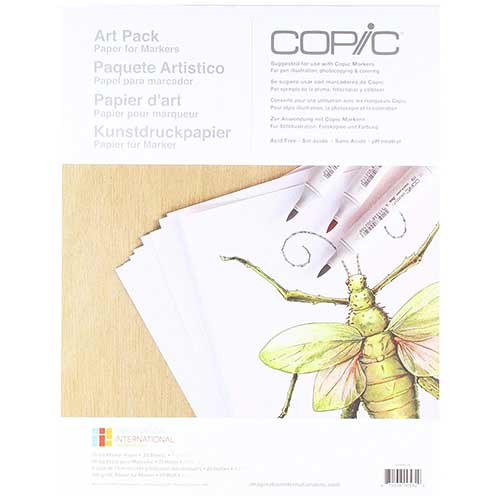 Best Papers for Copic Markers 3. Copic Marker Paper Pack