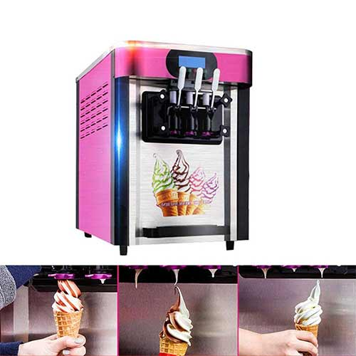 Best Commercial Ice Cream Makers 6. Commercial Ice Cream Machine ,Vinmax Soft Ice Cream Making Machine