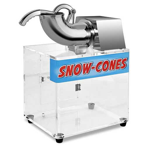 Best Commercial Shaved Ice Machines 3. Costzon Electric Stainless Steel Ice Shaver Machine Crusher Snow Cone Maker, 440lbs/hr