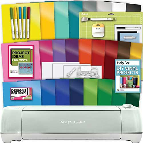 9. Cricut Explore Air 2 Machine Bundle