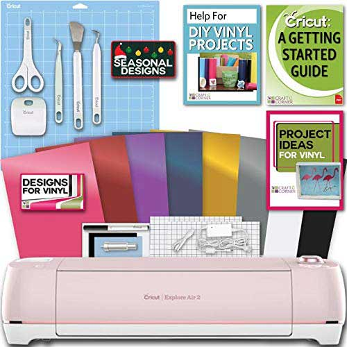 1. Cricut Explore Air 2 Machine Bundle
