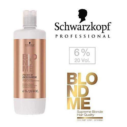 Best Hair Bleach Kits to Use 7. Schwarzkopf Professional Blonde Me Premium Developer Oil Formula