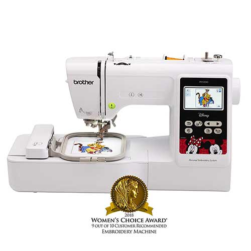 Best Embroidery Machines for Home Business 4. Brother Embroidery Machine, PE550D
