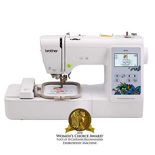 Best Embroidery Machines for Home Business 3. Brother Embroidery Machine, PE535