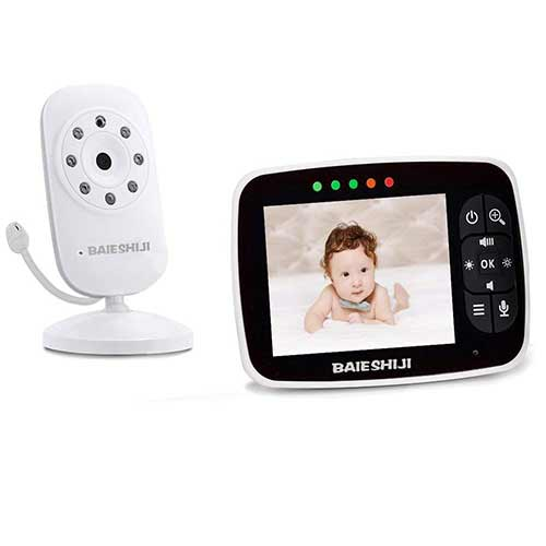 Top 10 Best Audio Baby Monitors Long Range in 2019 Reviews