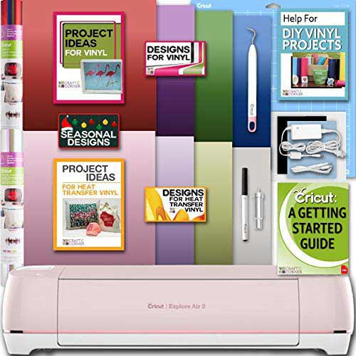 10. Cricut Explore Air 2 Machine Bundle