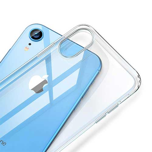 Best iPhone XR Cases 7. ESR Essential Zero Case for iPhone XR, Slim Clear Soft TPU Cover