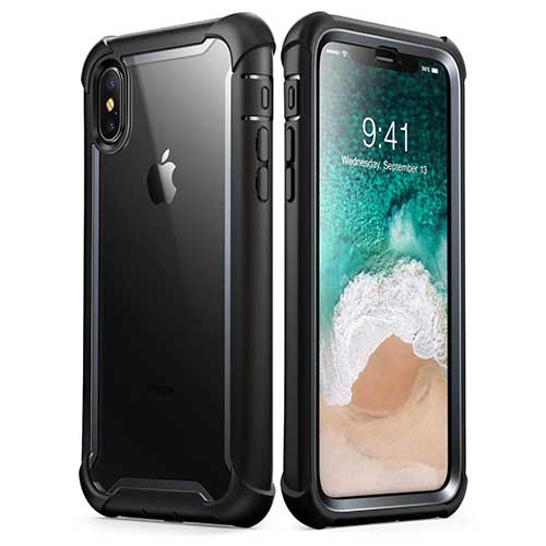 Best Iphone Xs Max Case 6. iPhone Xs Max Case, i-Blason [Ares] Full-Body Rugged Clear Bumper Case