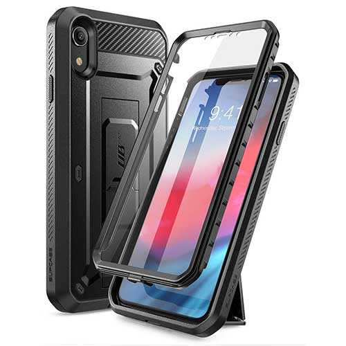 Best iPhone XR Cases 5. SUPCASE iPhone XR Case, Full-Body Rugged Holster Case