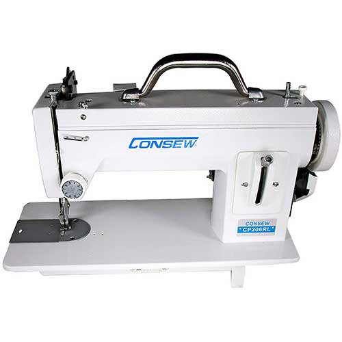 Best Sewing Machines for Leather 10. Consew CP206RL Portable Walking Foot Machine